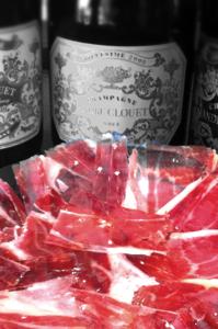 Experiencia de cata y corte de jamón maridado con vino